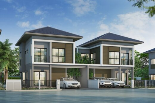 Twin house free
