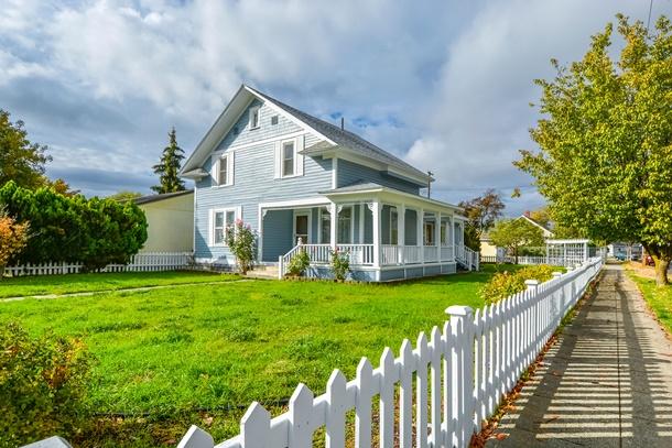 บ้านไม้สไตล์ยุโรปสวยในสไตล์คนตะวันตก