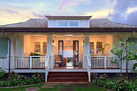feng shui one-story house