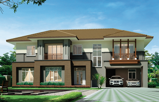 popular house style